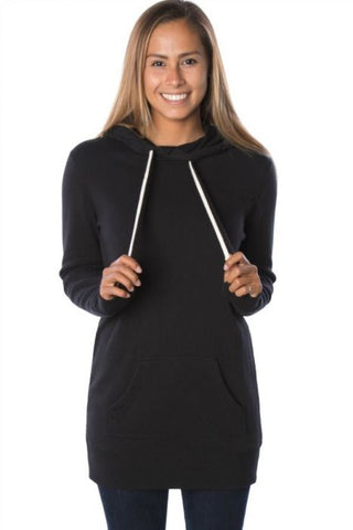 Midweight Hooded Pullover Dress
