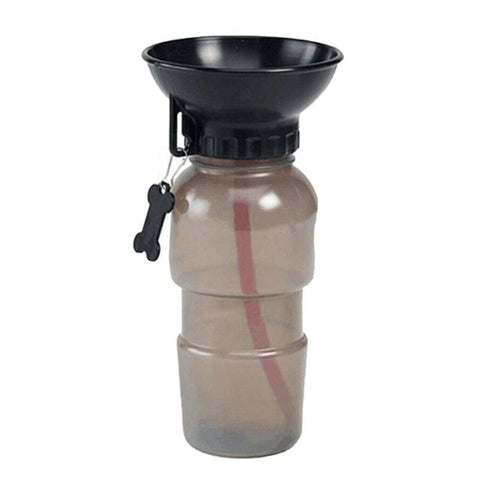 500ml Dog Water Bottle Pet Puppy Sport Portable Travel Outdoor Dogs Water Bowl Drinker Drinking Water Mug Cup Dispenser