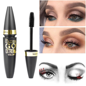 TIENDA Black Mascara Makeup, Waterproof