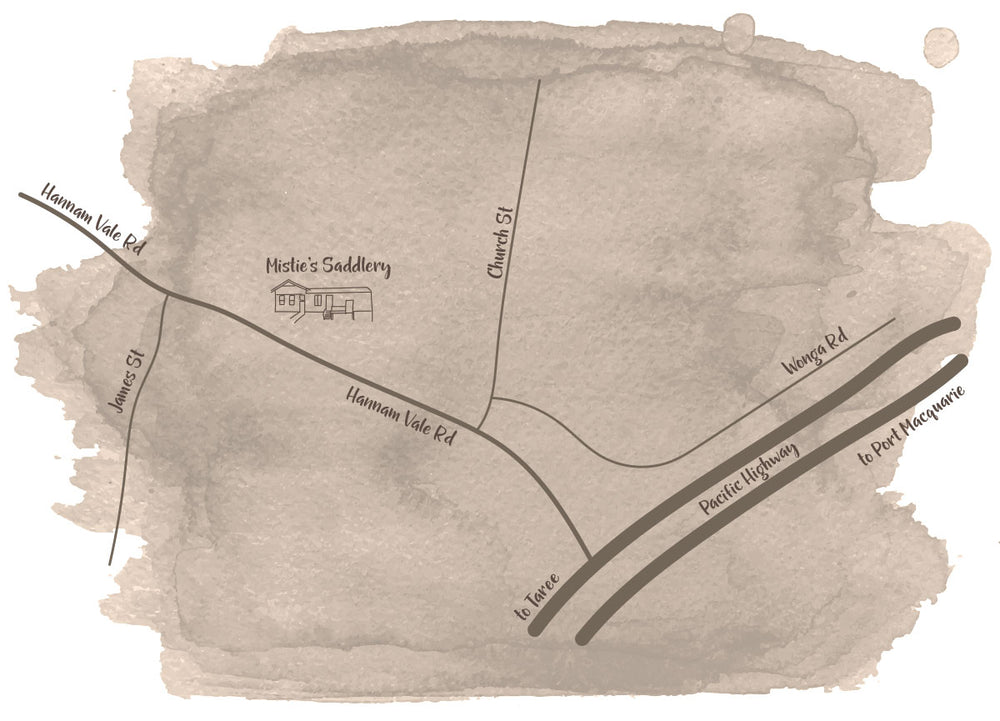 Misties Saddlery Location