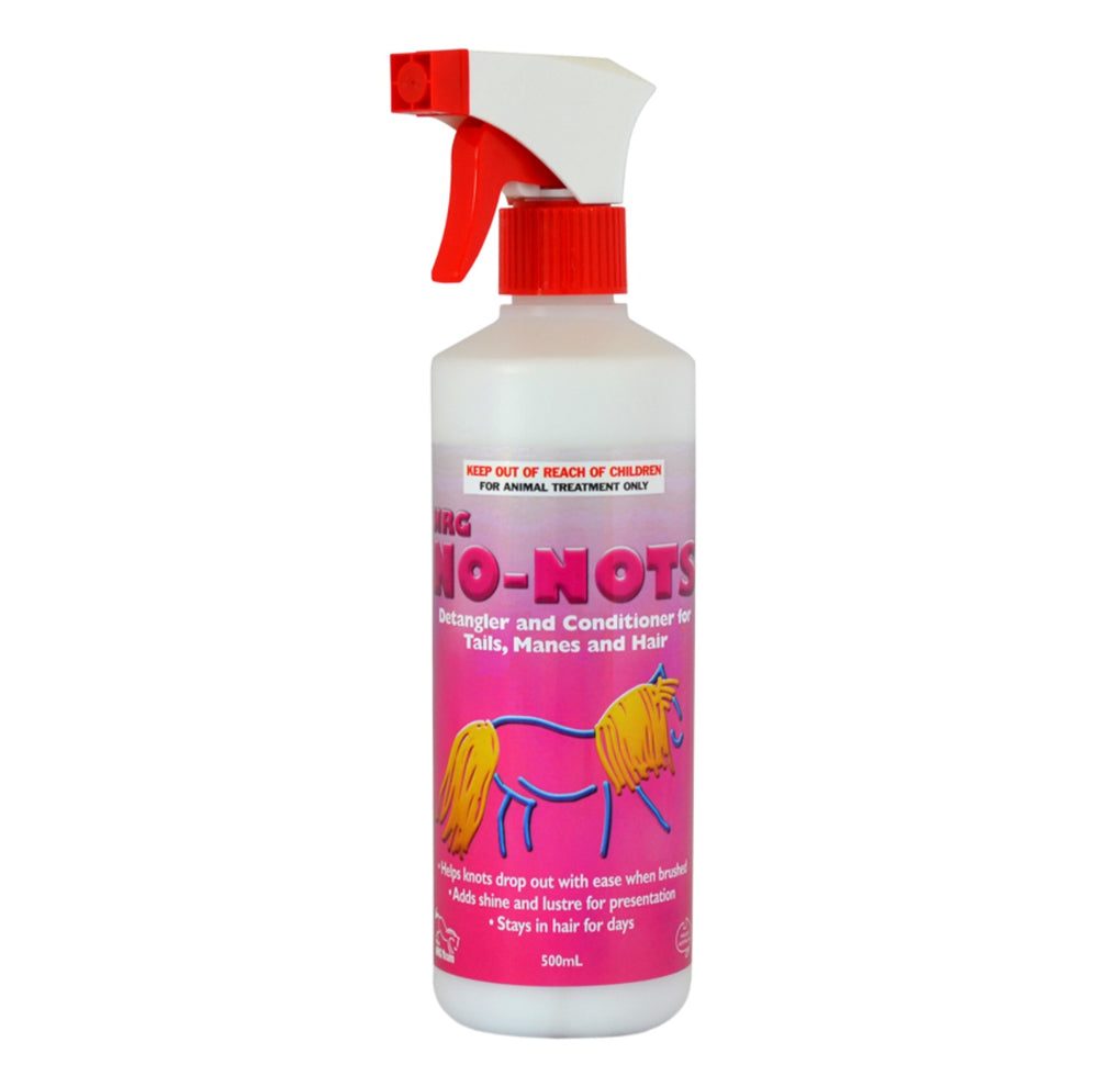 No Nots Detangler Spray .