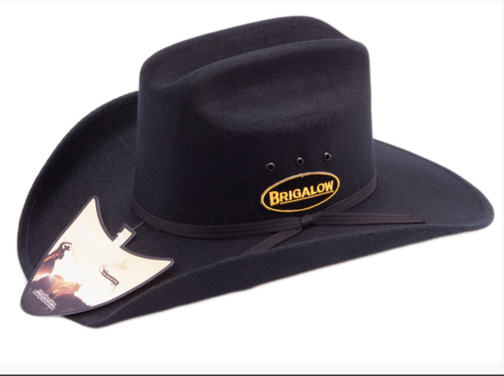 Black Dallas Felt Hat.