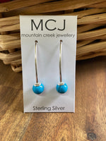 Mountain Creek Turquoise Dangle Earrings