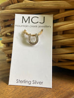 Mountain Creek Horseshoe Pendant