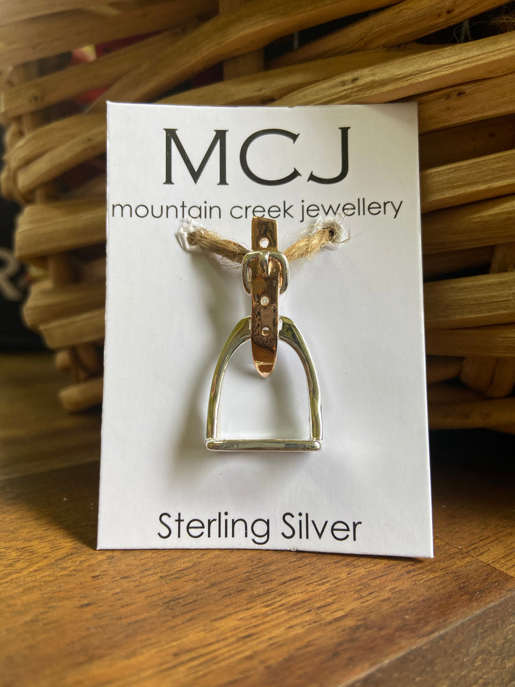 Mountain Creek Stirrup Buckle Pendant