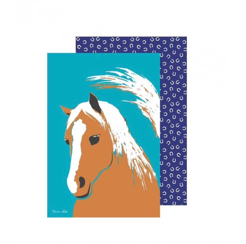 Thomas Cook Horse Tea Towel
