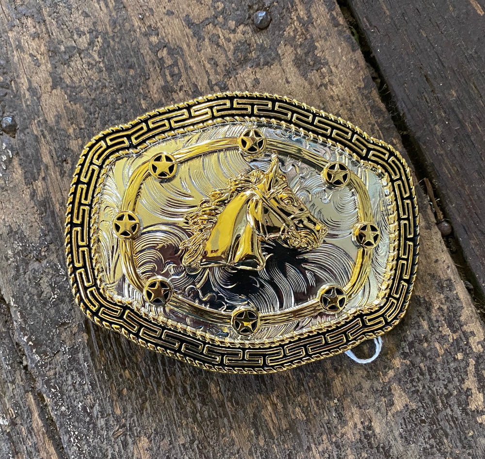 Horse Head Belt Buckle.