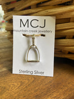 Mountain Creek Stirrup Pendant