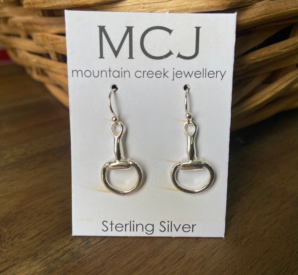 Mountain Creek Jewellery Snaffle Bit Earrings