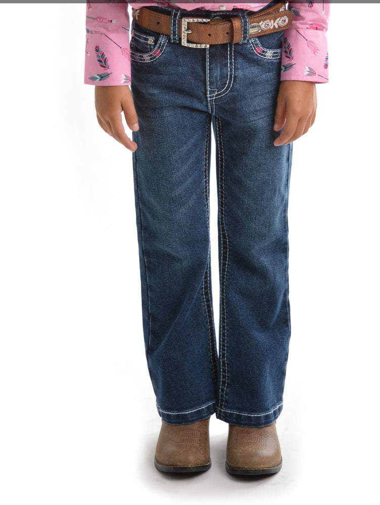 Girls Holly boot cut jeans