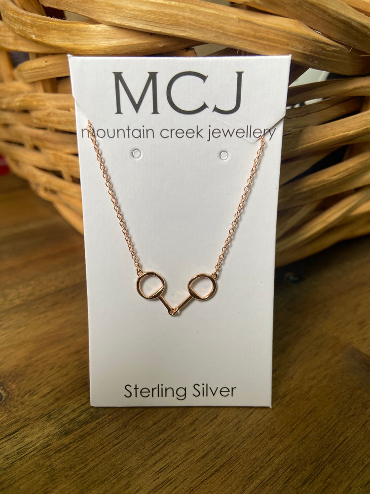Mountain Creek Jewellery Rose Gold Plated Bit Necklace