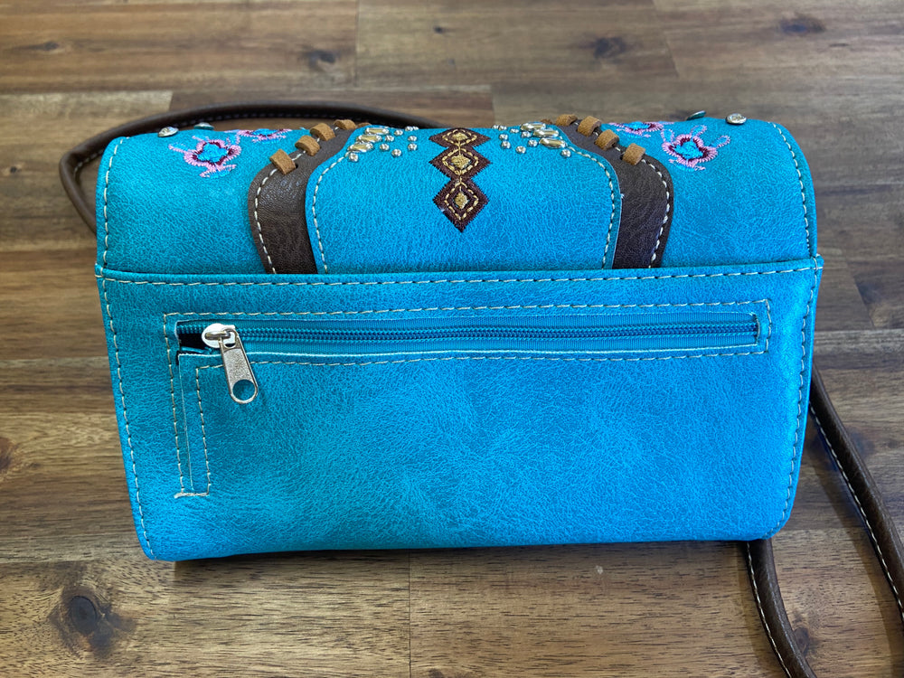 Ladies Purse Turquoise
