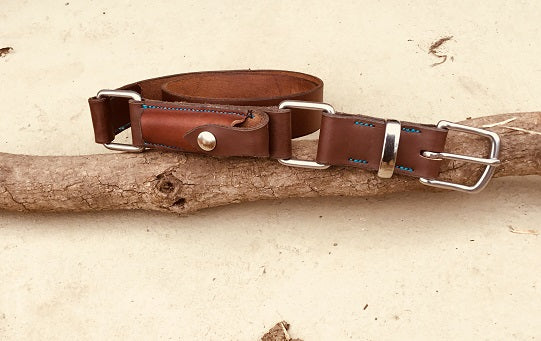 Diamond H True Blue Hobble Belt