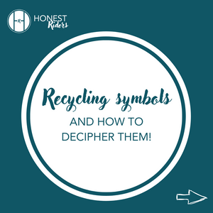 Recycling symbols and how to decipher them