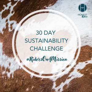 #RidersOnAMission 30 Day Sustainability Challenge
