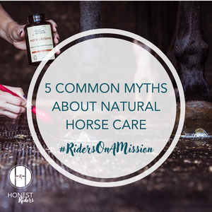 5 common myths about natural horse care