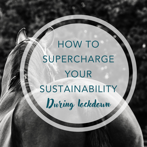 How to supercharge your sustainability during lock-down