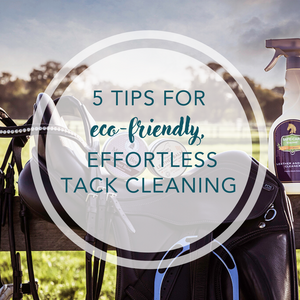 5 tips for eco-friendly, effortless tack cleaning