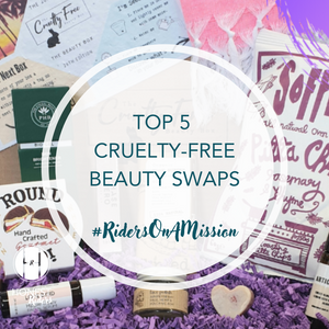 Top 5 cruelty-free beauty swaps