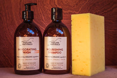Topline Naturals shampoo and wash