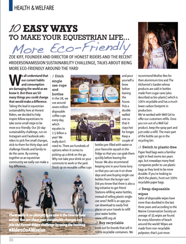 Absolute Horse Magazine, Zoe Kiff Honest Riders