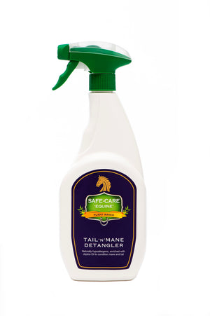 Safe-Care Equine: Tail 'N' Mane Detangler - Honest Riders