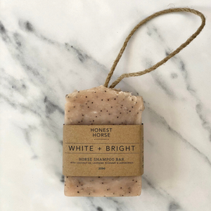 Honest Horse | Horse Shampoo Bar | WHITE + BRIGHT