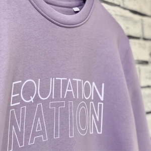 'EQUITATION NATION' Friesian Sweatshirt