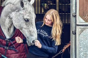 Young Riders | 'NO SCOPE NO HOPE' Exmoor Sweatshirt - Honest Riders