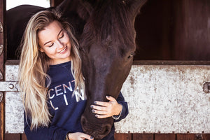 'CENTRE LINE' Thoroughbred Sweatshirt | Special Edition - Honest Riders