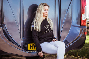 'TWO HEARTS' Thoroughbred Sweatshirt LIMITED EDITION - Honest Riders