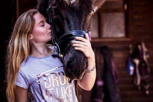 'DROP IT LIKE IT'S TROT' Trakehner T-Shirt - Honest Riders