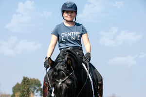 'CENTRE LINE' Trakehner T-Shirt - Honest Riders
