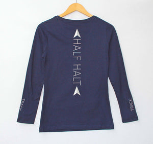 'HALF HALT' Dartmoor Long-Sleeve T-Shirt - Honest Riders