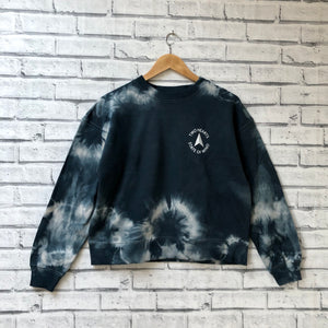'TWO HEARTS STATE OF MIND' | Brumby Sweatshirt | Tie Dye
