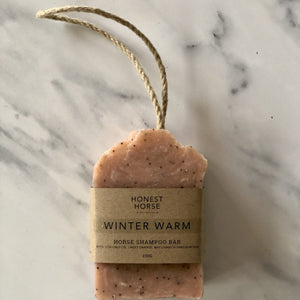 Honest Horse | Horse Shampoo Bar | WINTER WARM