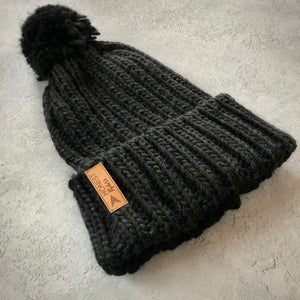 Honest Woolly Hat | Black