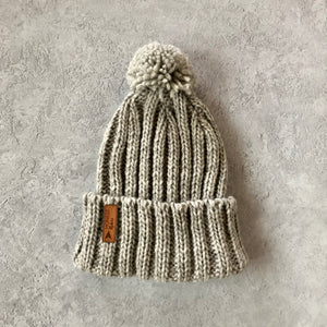 Honest Woolly Hat | Snow Grey
