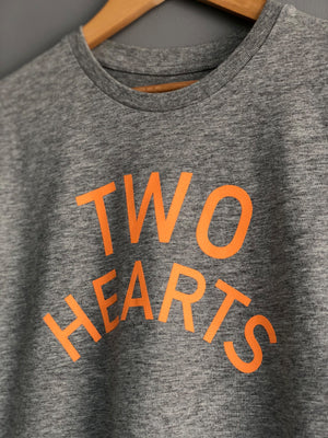 'TWO HEARTS' Welshy T-shirt - Honest Riders