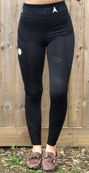 Riding Leggings | Black - Honest Riders