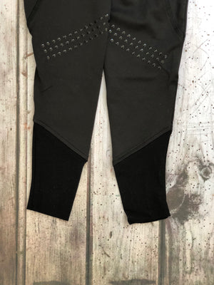 Young Riders | Riding Leggings | Black - Honest Riders