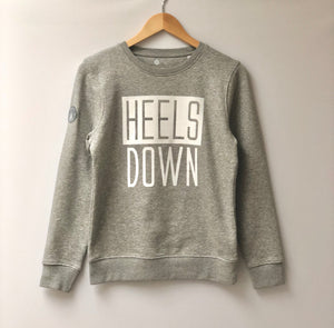 Young Riders | 'HEELS DOWN' Exmoor Sweatshirt