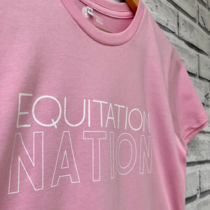 'EQUITATION NATION' Haflinger T-Shirt - Honest Riders