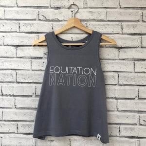 'EQUITATION NATION' Fjord Tank - Honest Riders
