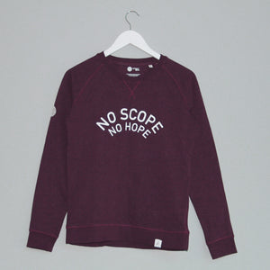 'NO SCOPE NO HOPE' Thoroughbred Sweatshirt - Honest Riders