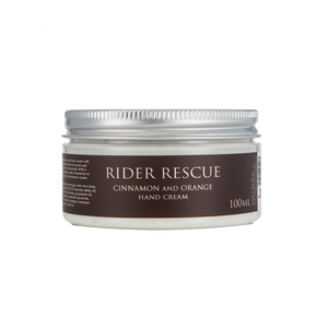 Red Horse: Rider Rescue Hand Cream, Orange & Cinnamon - Honest Riders