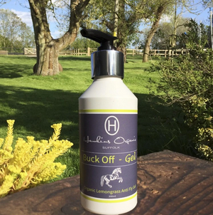 Hawkins Organic: 'Buck Off' Fly Gel - Honest Riders