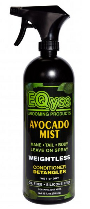EQyss: Avocado Mist Detangler & Conditioner - Honest Riders