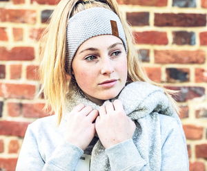 Honest Headband | Snow Grey
