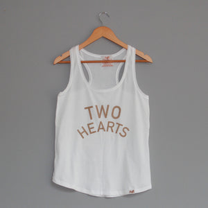 'TWO HEARTS' Arabian Vest Top - Honest Riders